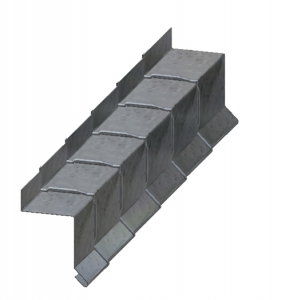 3-Way Bonding Roof Line Metal Flashing B