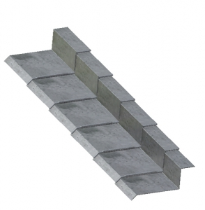 3-Way Bonding Sill Metal Flashing B