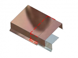 Continuous Cleat Metal Coping System