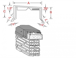 Form Tyte Metal Coping System profile