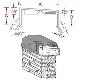Coping Flash Systems | B&B Sheet Metal