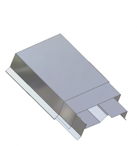 Spring Lock Metal Coping System