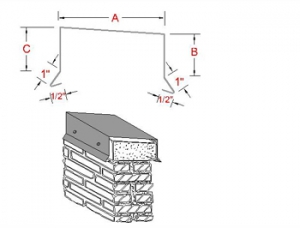 Standard Metal Coping System profile