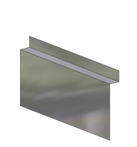 Through-Wall Grade Metal Flashing B