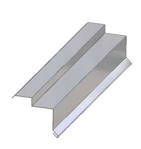 Through-Wall Roof Line Metal Flashing C