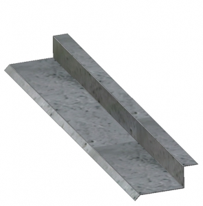 Through-Wall Sill Metal Flashing B