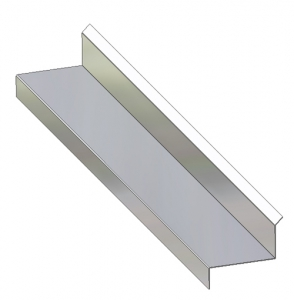Through-Wall Sill Metal Flashing C