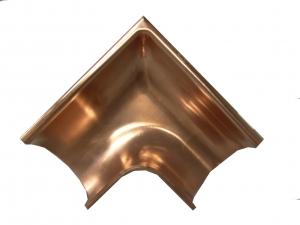 Americraft Copper Gutter Miter Outside Corner