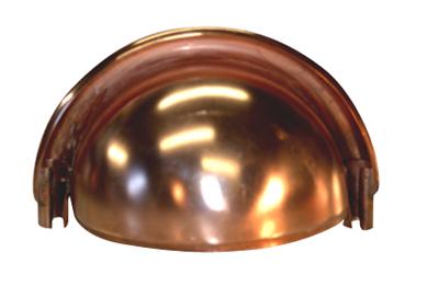Americraft Copper Quarter Ball End Cap | B&B Sheet Metal