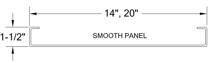BATTEN SEAM METAL PANEL profile