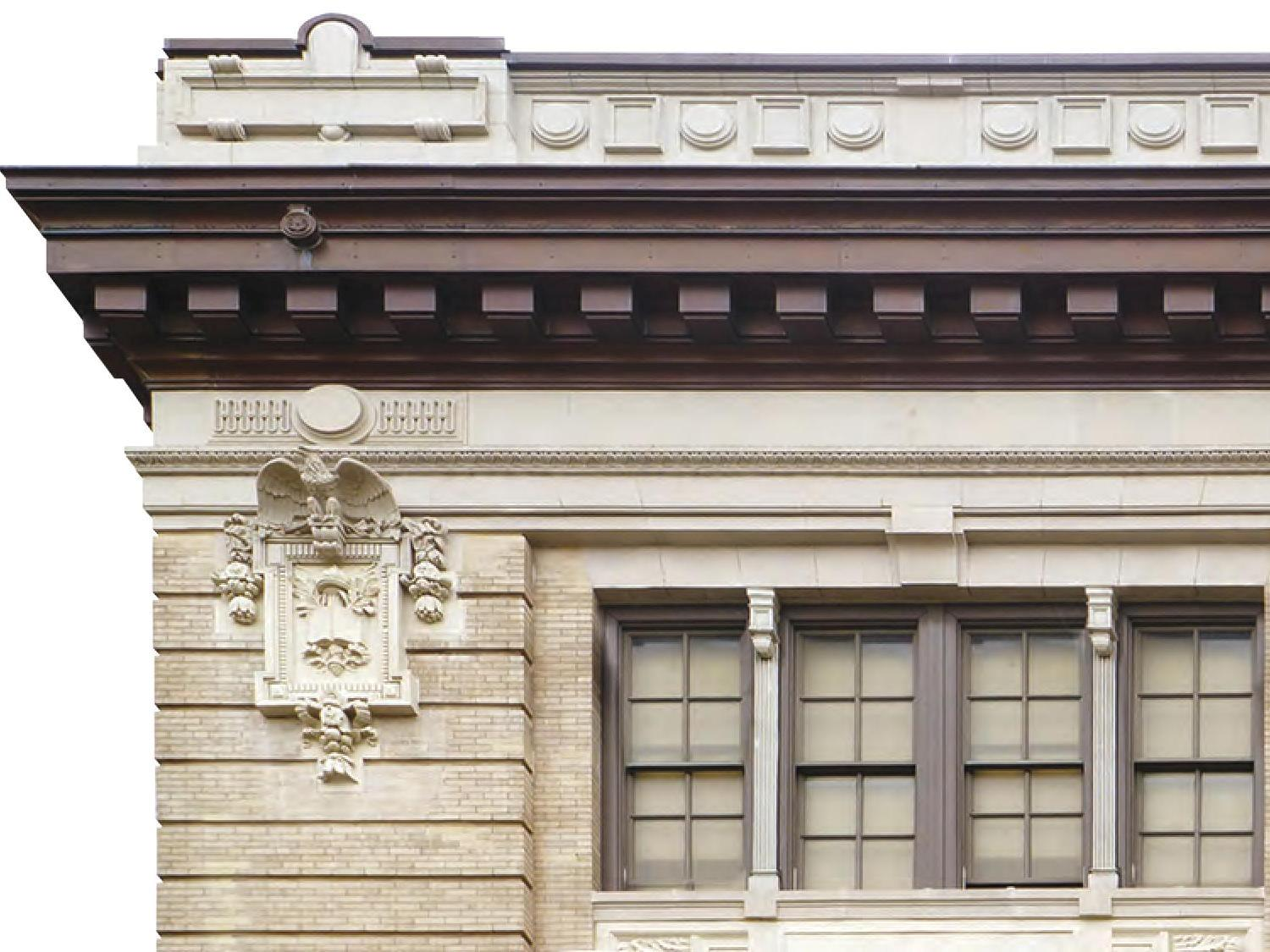 BBSeetmetal- New York City- Chelsea Vocational H.S.- Custom Cornices-