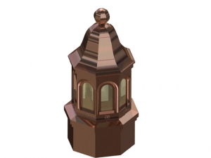 Bellhop Copper Cupola