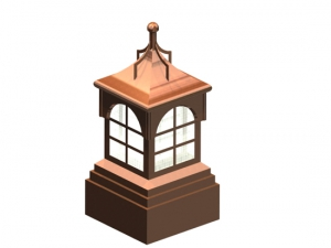 Caesar Copper Cupola