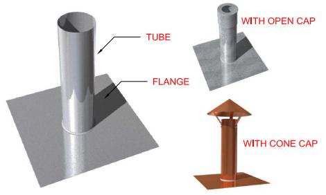 Flat Flange Metal Tube