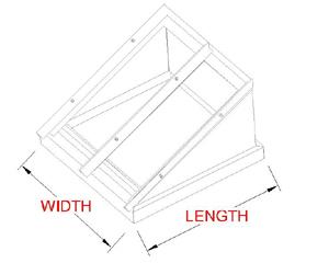 Flat Pitch Skylight profile