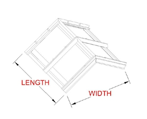 Flat Ridge Skylight profile