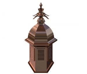 Fountain Copper Cupola