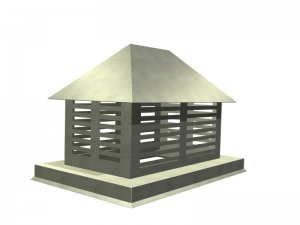 Gazebo Chimney Cap