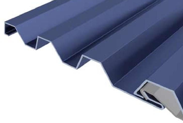 Horizontal Corrugated Rib Panel B B Sheet Metal