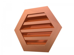 Hexagon Wall Louvers