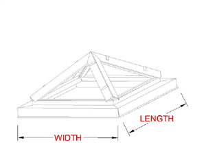 Hip Ridge Skylight profile