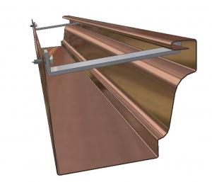 K-Style (Ogee) Copper-Aluminum Gutter