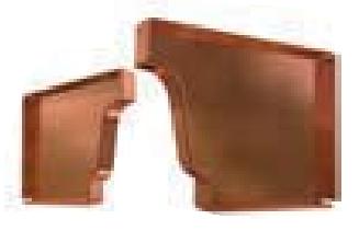 K-Style end cap