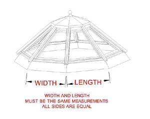 Octagon Skylight profile