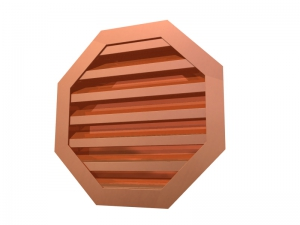 Octagon Wall Louver
