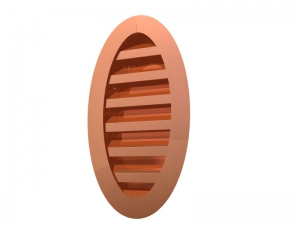 Oval Wall Louver