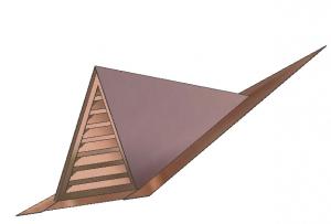 Pyramid Full Louver Dormer