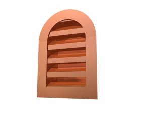 Round Top Wall Louver