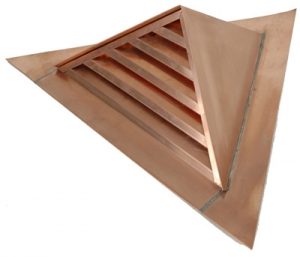 Triangular Gable Full Louver Dormer