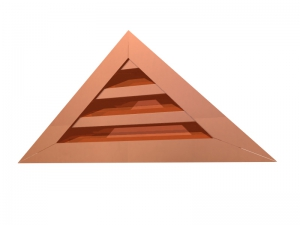 Triangular Wall Louver